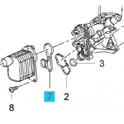 Uszczelka obudowy filtra oleju GM55565385 (Opel Adam, Astra, Cascada, Corsa, Insignia, Meriva, Mokka, Zafira)