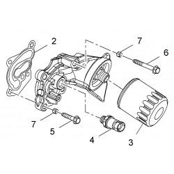 Filtr oleju silnika GM89017525 (Opel Antara)