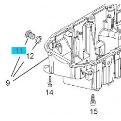 Korek spustowy miski olejowej GM55588255 (Opel Astra H,J, Cascada, Combo D, Insignia, Signum, Vectra C, Zafira B,C)