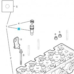 Tuleja dyszy wtryskiwacza paliwa 98109672 (Astra G,H, Corsa C, Meriva A, Zafira A)