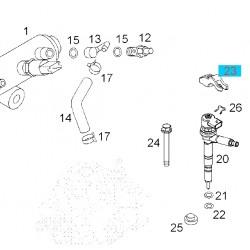 Wspornik, uchwyt dyszy wtryskiwacza paliwa 97376314 (Astra G,H, Corsa C, Meriva A, Zafira A 1.7)
