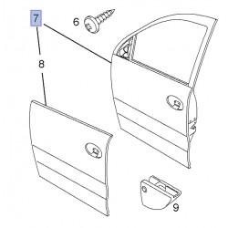 Drzwi przednie prawe 13227381 (Combo)