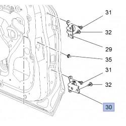 Zawias drzwi tylnych, dolny prawy 13501716 (Astra J, K, Ampera, Mokka, Zafira C)