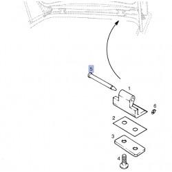 Śruba zawiasa klapy tylnej 90037240 (Antara, Astra F, H, Corsa C, D, E, Kadette E, Meriva B, Signum, Vectra B, Zafira B)