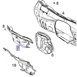 Wygłuszenie komory silnika 94553236 (Antara)