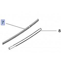 Uszczelka wewnętrzna szyby drzwi tylnych, lewa 95088190 (Mokka)