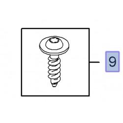 Śruba torx z okrągłym płaskim łbem 5x20 90561305 (Adam, Antara, Astra G,H,J, Corsa C,D, Insignia, Meriva A,B, Zafira B,C)