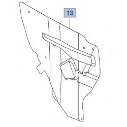 Deflektor wody drzwi tylnych, lewy 95321535 (Mokka)
