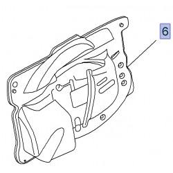 Deflektor wody drzwi bocznych suwanych, lewy 95518210 (Combo D)