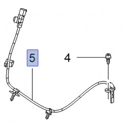 Czujnik ABS-u koła tylnego, prawy 42450319 (Mokka od 2016)