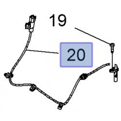 Czujnik ABS-u koła tylnego, prawy / lewy 13470643 (Astra J, Cascada, Ampera)