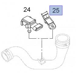 Czujnik temperatury powietrza, wąż kolankowy 95516375 (Movano 22DTI, 25DTI)