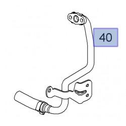 Przewód układu chłodzenia zbiornik wyrównawczy-termostat 93183456 (Agila A,B, Corsa C,D, Meriva A)