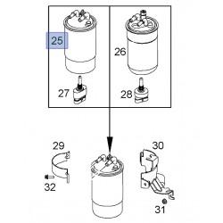 Filtr paliwa 93190796 (Corsa D 1.3 CDTI)