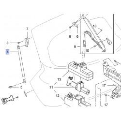 Amortyzator klapy bagażnika, lewy 13332885 (Insignia kombi)
