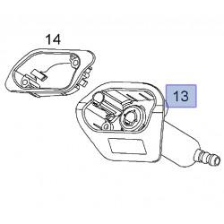 Silnik,dysza spryskiwacza reflektora, prawa 13242184 (Astra H)