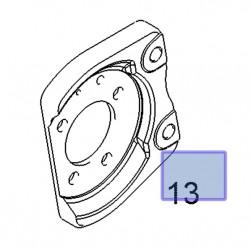 Mocowanie zacisku hamulca tylnego, prawe 13173019 (Astra G,H, Corsa C, Meriva A,B, Zafira B)