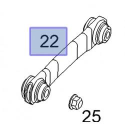 Wahacz tylny dolny prosty 13204112 (Signum, Vectra C)