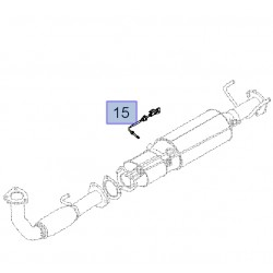 Czujnik temperatury spalin Z20DM 25183665 (Antara)