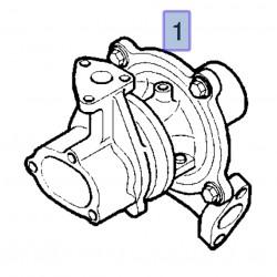 Turbosprężarka 93177409 (Agila A,B, Corsa C, Meriva A, Tigra B 1.3)