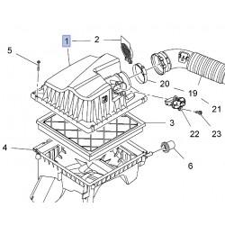 Pokrywa obudowy filtra powietrza 13301781 (Astra J)