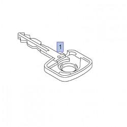 Klucz surowy z nadajnikiem (profil serii Z) 93179247 (Astra G, Combo C, Meriva A, Tigra B)