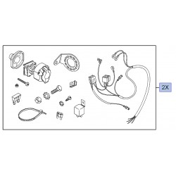 Wiązka elektryczna haka holowniczego 93160573 (Astra H, Signum, Vectra C, Zafira B)