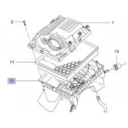 Dolna obudowa filtra powietrza 13296368 (Insignia)