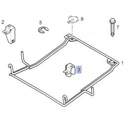 Uchwyt mocowania koła zapasowego 91166500 (Vivaro A)
