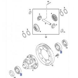 Łożysko mechanizmu różnicowego 93195615 (Agila B)