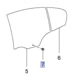 Spinka szyby drzwi tylnych 24462197 (Insignia, Signum, Vectra C, Zafira C)