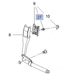 Śruba mocująca obudowę napinacza pasa 95913251 (Mokka)