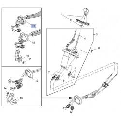 Linka zmiany biegów skrzynia manualna F40 55596497 (Zafira C)