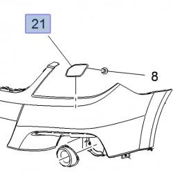 Pokrywa, zaślepka dyszy spryskiwacza reflektora, prawa 13208121 (Signum, Vectra C)