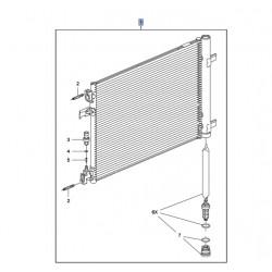 Skraplacz, chłodnica klimatyzacji 39010911 (Astra J, Cascada, Zafira C)
