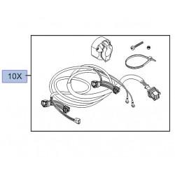 Wiązka elektryczna gniazda haka holowniczego, 13-stykowa 9121822 (Vivaro A)