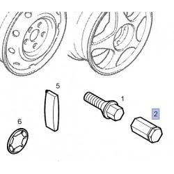 Kołpak, osłonka śruby koła 9156713 (Astra G, Omega B)