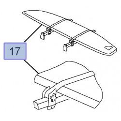 Uchwyt samochodowy na deskę surfingową z żaglem 9162894 (Corsa C,D, Meriva A, Signum, Vectra C)