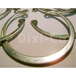 Pierścień zatrzaskowy łożyska przedniego koła 9220257 (Agila A)