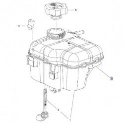 Zbiornik wyrównawczy płynu chłodzącego 13393368 (Astra J, Cascada)