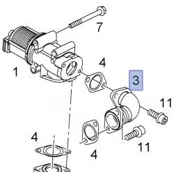 Przewód, rurka zaworu EGR Z19DTL, Z19DT 93178884 (Astra H, Signum, Vectra C, Zafira B)