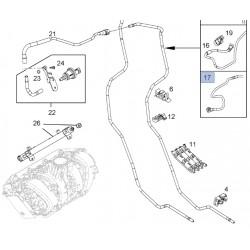Przedni przewód parowania paliwa 13353445 (Corsa D, E)
