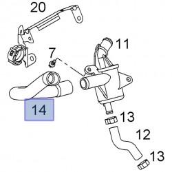 Wąż, wentylacyjny wału korbowego 93177763 (Astra H, Agila A,B, Corsa D,C, Meriva A, Tigra B)