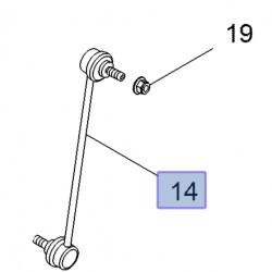 Łącznik przedniego stabilizatora 93450030 (Vivaro B)