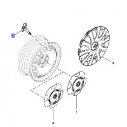 Czujniki ciśnienia w oponach TPMS 93457916 (Vivaro B)
