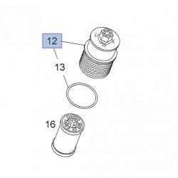 Korek, pokrywa górna filtra oleju silnika 93177784 (Astra H, Agila A,B, Corsa C,D, Combo D, Tigra B)