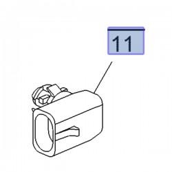 Czujnik temperatury zewnętrznej 25775833 (Adam, Corsa E, Karl, Mokka, Zafira C)