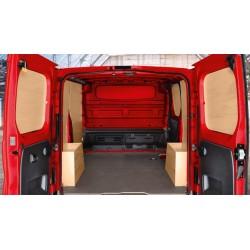 Boczne panele ochronne, standardowe 10mm, L2 z drzwiami LH 95599495 (Vivaro B)