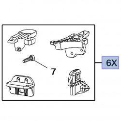 Zestaw naprawczy mocowań reflektora 13488988 (Astra K)