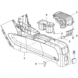 Zaślepka konsoli tunelu środkowego 95040356 (Mokka)